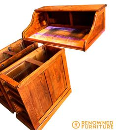 Furniture Repair, Wood Furniture, Old Things, Things To Come, We Got It, It's Coming, Furniture Restoration, It Is Finished, Desk
