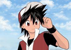 Pokemon Go Red Team, Pokemon Trainer Red, Oc Pokemon, Pokemon Manga, Pokemon Especial, Equipe Pokemon, Pokemon Adventures Manga, Pokemon Couples, Red Trainers
