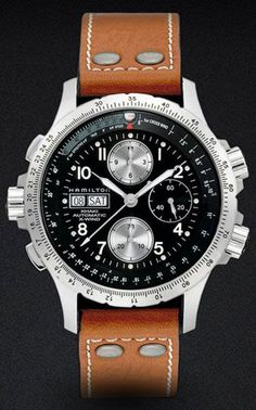 Brown Leather Watch 2012 - New Leather Watches 2012 - Esquire #watch