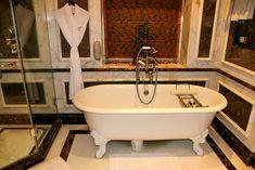 Taj Lake Palace Hotel Udaipur Indien Badezimmer
