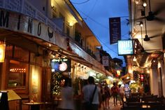 The Alley in Siem Reap