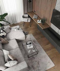 Minimal Interior Design Inspiration - New Deko Sites Loft Interior, Modern Interior Design, Interior Design Living Room, Living Room Designs, Kitchen Interior, Modern Decor, Modern Furniture, Loft Furniture, Interior Colors