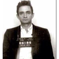 Mug shot Johnny Cash