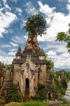 These crumbling meditation shelters or stupas, more than a thousand of them, have no records in Myanmar history of ever being built.