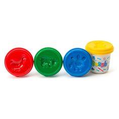 L'enfant libère son imagination avec les quatre couleurs Play-Doh. Ce pack de 4 couleurs va permettre à l'enfant de faire de nouvelles créations.