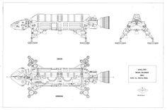 Stephen Corbett Blueprint - Space 1999 Eagle Transporter Forum