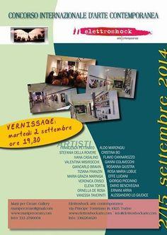Artegenica: Mostra-Concorso Internazionale d'Arte Contemporane...