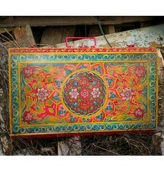 xx..tracy porter..poetic wanderlust...- Fair Trade Russian Tin Trunk