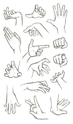 another hand reference how to sheet finger gun flick flicking grabbing hands drawingPractices to draw hands, Made back in summer. In my opinion drawing hands is one of the most important things to grasp when designing characters and jus. Hand Drawing Reference, Art Reference Poses, Reference Images, Design Reference, Drawing Tips, Drawing Hands, Drawing Art, Figure Drawing, Gesture Drawing