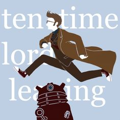 Ten Time Lords Leaping