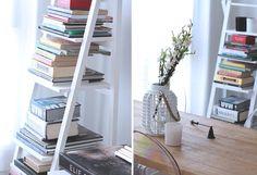 DECORACIÓN DE MI CASA: MESA DE MADERA INDUSTRIAL  Bookshelf inspiration. Sweet home  decoration fashion blog