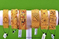 Broad Bangle collections from RMA Jewellery Big Gold Bangles, Broad Gold Bangles, Big Gold Bridal Bangles DesignsBig Gold Bangles, Broad Gold Bangles, Big Gold Bridal Bangles Designs Dubai Gold Bangles, Dubai Gold Jewelry, Gold Bangles Design, Gold Jewellery Design, Silver Jewelry, Gold Kangan, Antique Jewellery Designs, Bridal Bangles, Bridal Jewellery