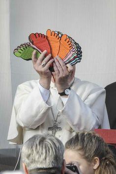 Pape François - Pope Francis - Papa Francesco - Papa Francisco - Visite à la paroisse de Rome San Tommaso Apostolo