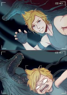 "aichan-artblock:  "" RIP PROMPTO Do me a favor and listen to 'FFXV Hunt or Be Hunted' while looking at this art.  www enjoy.  """