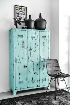 HKliving industrieel vintage Scandinavisch kleur decoratie woonaccessoires woonkamer interieur wit zwart hout