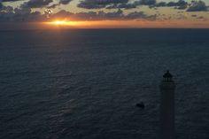 Faro di Punta Palascia - Otranto - Lecce Good Day, Celestial, Sunset, Beach, Water, Outdoor, Bom Dia, Water Water, Outdoors