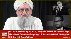 Ayman al-Zawahiri, the head of al-Qaeda, makes an appeal to Afro American Christians to convert to Islam within a 20-minute video on Sept. 9, 2016.
