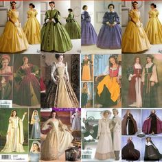 Simplicity Historical Costume Sewing Pattern