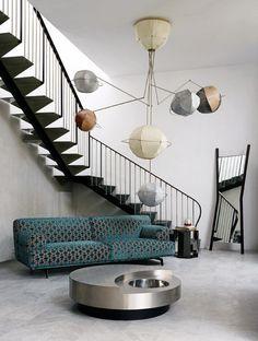 Un viaggio attraverso lo spazio e il tempo nella galleria milanese Leclettico - Design news - GraziaCasa.it #design #interni