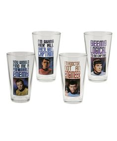 Star Trek 16-Oz. Glass Set