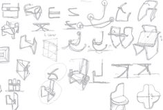 2007-April, furniture sketch, by ziyoon