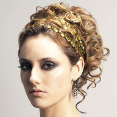 Women's Ancient Greek Hairstyles (7)