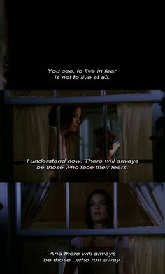To live in fear ~ Mary Alice Young ~ Desperate Housewives Quotes ~ Season 1, Episode 3 ~ Pretty Little Picture