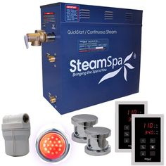 Steam Spa RYT1200CH Royal 12 KW Quick Start Acu-Steam Bath Generator Package