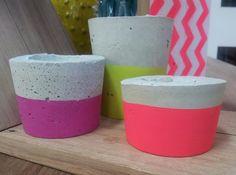 Concrete Candle Trios!