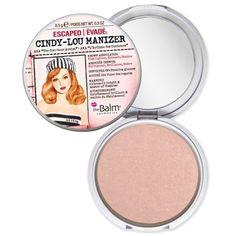 Enlumineur compact rosé - Cindy-Lou Manizer  - The Balm | beauteprivee.fr