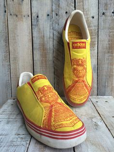 Adidas Shoes Stan Smith- Comfort Shoes Comfortable Shoes -Slip on Shoes Walking Shoes -Yellow Shoes- MENS slip shoes -mens sneakers- SIZE 11 by BostonInventory on Etsy