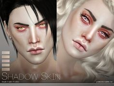 PS Shadow Skin by Pralinesims at TSR via Sims 4 Updates