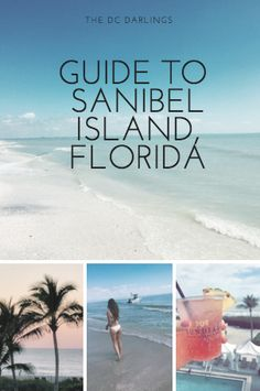 Planning a vacation to Sanibel Island? Read the DC Darlings Sanibel guide for tips and recommendations! Florida Keys, Sanibel Florida, Places In Florida, Visit Florida, Florida Vacation, Florida Travel, Florida Beaches, Vacation Trips, Naples Florida