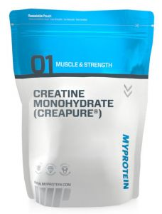 MyProtein CreaPure Creatine Monohydrate plain package quality ingredients!