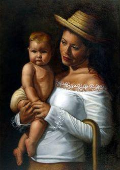 The Divine Shepherdess, Milixa Moron, venezuelan.