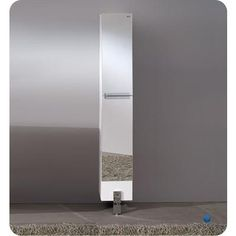 "Fresca - Adour Mirrored Bathroom Linen Side Cabinet - FST8110MR - Home Depot Canada $379 handles interrupt mirrors (9.75""W x 10""D x 75""H)"