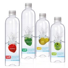 Fresh & Easy on Packaging of the World - Creative Package Design Gallery Water Packaging, Juice Packaging, Beverage Packaging, Bottle Packaging, Brand Packaging, Design Packaging, Bottle Labels, Water Bottle Design, Label Design