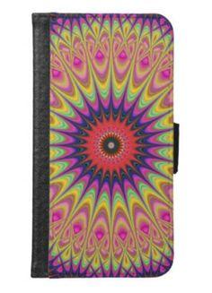 Thorn mandala wallet phone case for samsung galaxy s6 $29.80