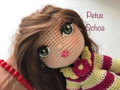 Borda boca a tus muñecas amigurumis by Petus - YouTube Crochet Dolls, Crochet Hats, Amigurumi Tutorial, Chiffon, Amigurumi Doll, Doll Face, Videos, Free Pattern, Crochet Patterns