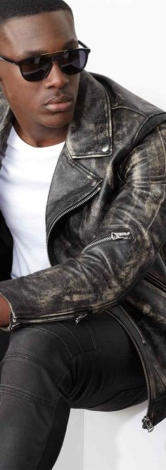 Feeling dangerous? Find your cooling effect with the best of our Moto Cool trend. #SaksMen