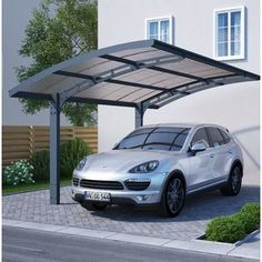 x Arizona Wave 5000 Metal Carport Carport Aus Aluminium, Metal Carport Kits, Aluminum Carport, Polycarbonate Roof Panels, Garage Canopies, Carport Canopy, Carport Designs, Pergola Designs, Pergola Ideas
