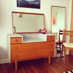 The transformation of a battered old retro dressing table NINA'S APARTMENT - Vintage * Upcycled * Handmade * Homeware:
