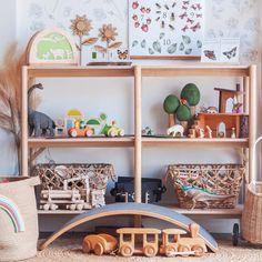 Waytoplay roads, toy storage ideas, and shelfies, oh my!#waytoplay #waytoplaytoys #waytoplayroads #toystorage #shelfie #playroominspo #wobbelboard #woodentoys #montessoriathome #openendedplay #learningthroughplay #playbasedlearning #toddlertoyideas #toddlergiftideas #invitationtolearn #homeschool Children's Toys, Kids Toys, Toy Storage, Storage Ideas, Learning Through Play, Shelfie, Toddler Gifts, Roads, Wooden Toys