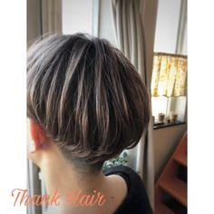 カラーチェンジ #かりあげ女子 #刈り上げ#ツーブロック#ダブルカラー#ブリーチオンカラー#アッシュベージュ#いつもありがとうございます#thank hair#thank_hair#サンクヘア#サンクヘアー