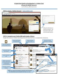 Teachers' Visual Guide to Educational Twitter Chats ~ Educational Technology and Mobile Learning