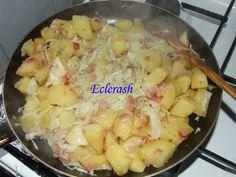 Reteta culinara Cartofi taranesti din categoria Aperitive / Garnituri. Cum sa faci Cartofi taranesti Potato Salad, Potatoes, Meals, Romania, Ethnic Recipes, Food, Meal, Potato, Essen