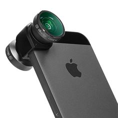 I'm an Android guy..but this is cool!  ThinkGeek :: Olloclip iPhone Camera Lens System