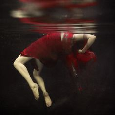 "Photo: Brooke Shaden, ""Falling Apart"" ~ I am in love with this woman's work ~ if I am pinning 'illegally' please forgive me"