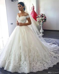 I found some amazing stuff, open it to learn more! Don't wait:https://m.dhgate.com/product/2016-ball-gown-wedding-dresses-cap-sleeves/266904208.html #laceweddingdresses