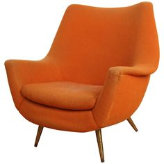 Sculptural Club Chair, by Lawrence Peabody